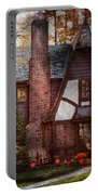 Cottage - Westfield Nj - A Place To Retire Portable Battery Charger by Mike Savad