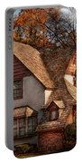 Cottage - Westfield Nj - Family Cottage Portable Battery Charger by Mike Savad