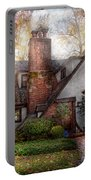 Cottage - Westfield Nj - Grandma Ridinghoods House Portable Battery Charger by Mike Savad