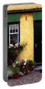 Cottage At Bushmills, Co Antrim, Ireland Portable Battery Charger