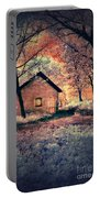 Cottage In The Woods Portable Battery Charger