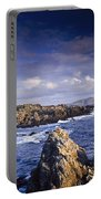 Cottage On Seashore, Ineuran Bay Portable Battery Charger