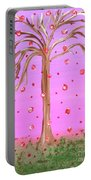 Cotton Candy Sky Wishing Tree Portable Battery Charger