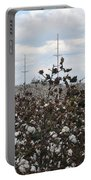 Cotton Ready For Harvest In Alabama Portable Battery Charger