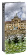 Council House And Victoria Square - Birmingham Portable Battery Charger