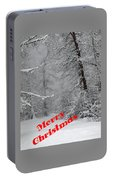 Country Christmas 1 Portable Battery Charger