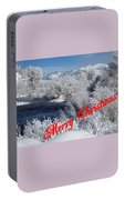 Country Christmas 2 Portable Battery Charger