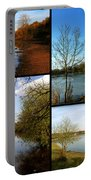 Country Parks Collage Portable Battery Charger