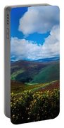 Country Road, Near Luggala Mountain, Co Portable Battery Charger