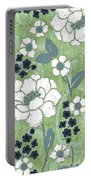 Country Spa Floral 2 Portable Battery Charger