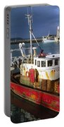 County Waterford, Ireland Fishing Boats Portable Battery Charger