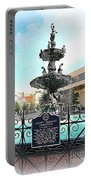 Court Square Fountain Portable Battery Charger