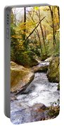 Courthouse River In The Fall 2 Portable Battery Charger