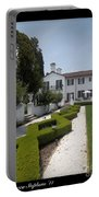 Courtyard At Crane Zig Zag Maze Portable Battery Charger
