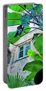 Courtyard Feelings Cafe Nola Portable Battery Charger