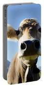 Cow With A Bell Portable Battery Charger