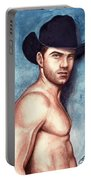 Cowboy Blue Portable Battery Charger