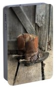 Cowboy Boots With Spurs Portable Battery Charger