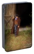 Cowboy With Guns Portable Battery Charger
