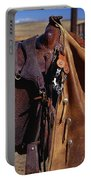 Cowboys Saddle And Chaps Detail Portable Battery Charger