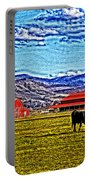 Cows Pasture Barns Superspecialeffect Portable Battery Charger