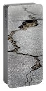 Crack In The Street Portable Battery Charger