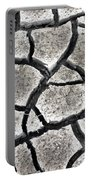 Cracked Mud Portable Battery Charger