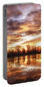 Crane Hollow Sunrise Boulder County Colorado Hdr Portable Battery Charger