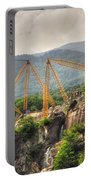 Crane On The Mountain Portable Battery Charger