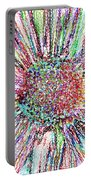 Crazy Daisy Colored Pencil Photoart Portable Battery Charger