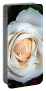 Creamy Rose Iv Portable Battery Charger