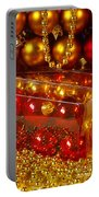 Crhistmas Decorations Portable Battery Charger by Carlos Caetano