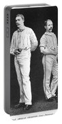 Cricket Players, 1889 Portable Battery Charger