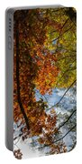 Crimson And Gold Portable Battery Charger