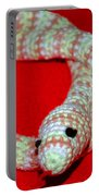 Crochet Snake In Red Portable Battery Charger