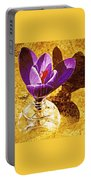 Crocus Graphic  Portable Battery Charger