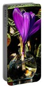 Crocus In A Bottle Portable Battery Charger