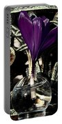 Crocus In A Bottle Number Two Portable Battery Charger