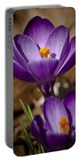 Crocus Royalty Portable Battery Charger