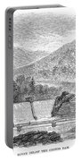 Croton Dam, 1860 Portable Battery Charger