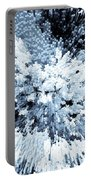 Crystal Flowers Portable Battery Charger