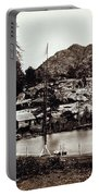 Crystal Lake And Black Butte - California - C 1865 Portable Battery Charger