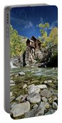 Crystal Mill In Autumn Portable Battery Charger