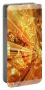Crystallized - Digital Art Abstract Portable Battery Charger