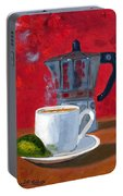 Cuban Coffee And Lime Red R62012 Portable Battery Charger