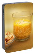 Cup O Soup And Oyster Crackers Portable Battery Charger