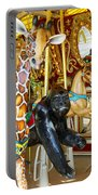 Curious Carousel Beasts Portable Battery Charger