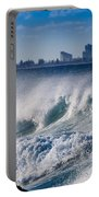Currumbin Beach Waves Portable Battery Charger