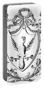 Custis: Coat Of Arms Portable Battery Charger