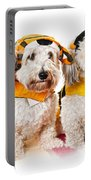 Cute Dogs In Halloween Costumes Portable Battery Charger